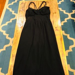 Jessica Simpson black maxi dress